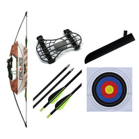 FireKite Youth Longbow Archery Kit