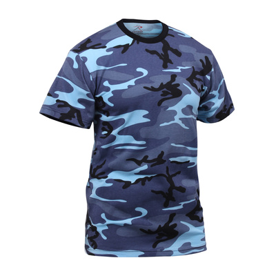 Rothco Kids Camo T-Shirt - Sky Blue