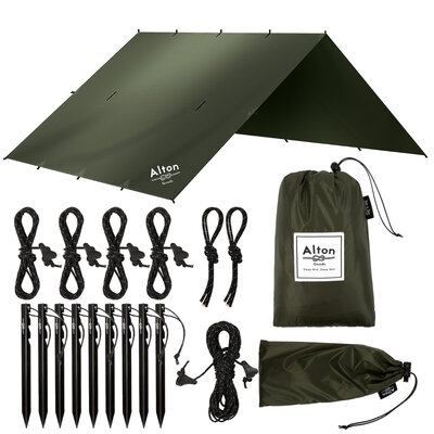 Alton Goods 3x3m Ultralight Tarp