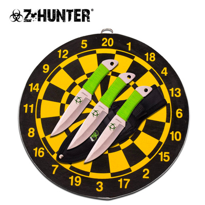 Z Hunter Throwing Knife Set With Target