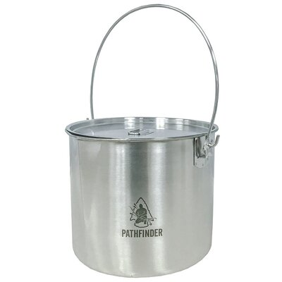 Pathfinder 120oz Stainless Steel Bush Pot