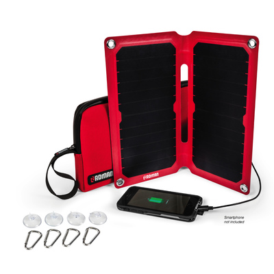 Roman 13W Portable Solar Charger Kit