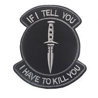 If I Tell You - Morale Patch