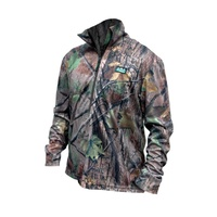 Ridgeline Pro Hunt Air Tech Zip Shirt - Nature Green