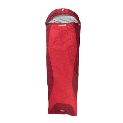 Roman Palm I Sleeping Bag Fiery Red