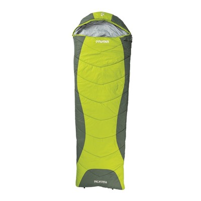 Roman Palm Visa Sleeping Bag - Lime Green