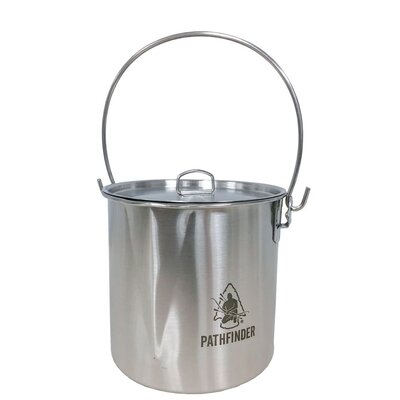 Pathfinder 64oz Stainless Steel Bush Pot 1.9L